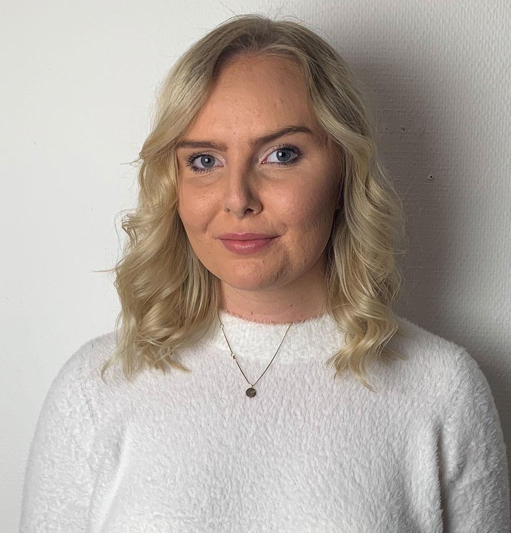 Amanda Silén, kandidat Enköpings lucia 2018