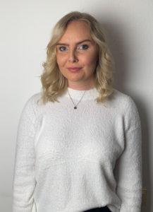 Amanda Silén kandidat till Enköpings lucia 2018.