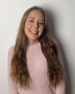 Linn Jordahl kandidat till Enköpings lucia 2018.