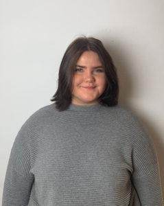 Moa Hyvönen Eriksson kandidat till Enköpings lucia 2018.